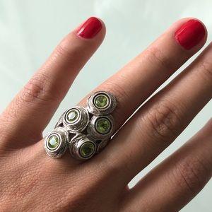 Hagit Gorali Silver and Chrysoberyl Ring